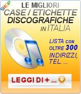 Elenco case etichette discografiche in Italia